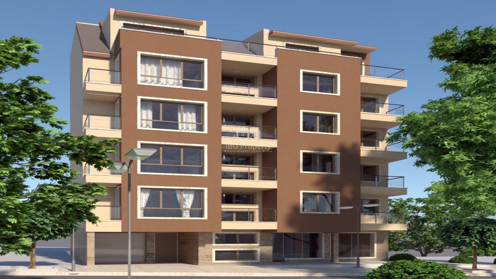 Zweizimmerwohnung in Varna Kolhozen pazar 61,69 m2