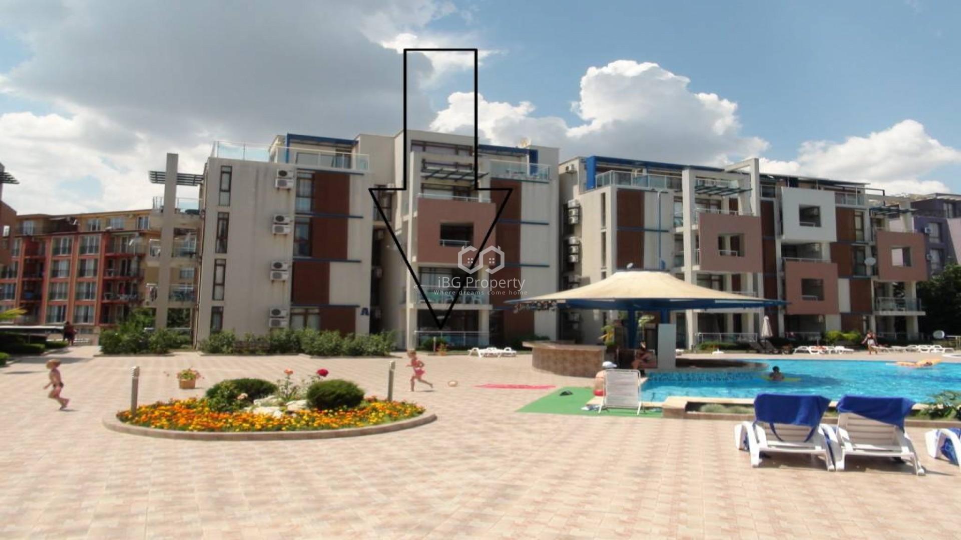 Zweizimmerwohnung in Sunny beach 66 m2 q.m.