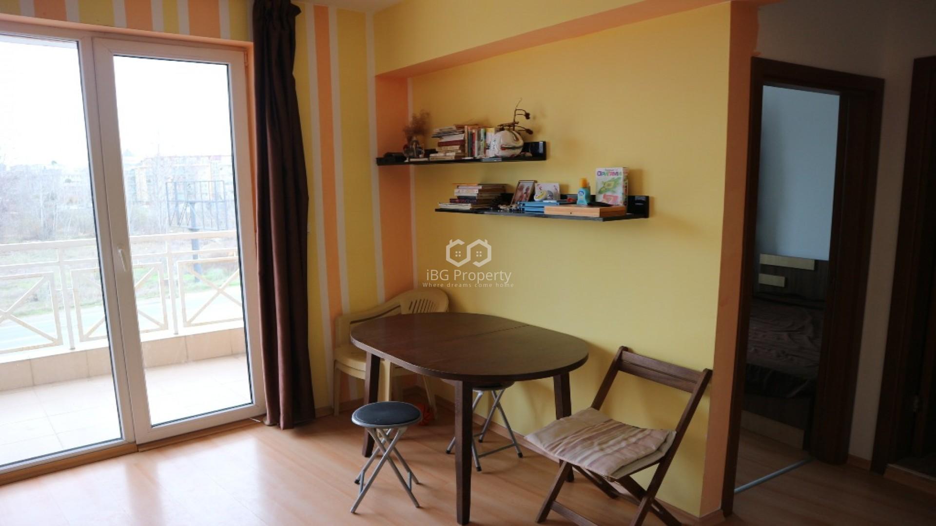 Zweizimmerwohnung in Sonnenstrand 46 m2