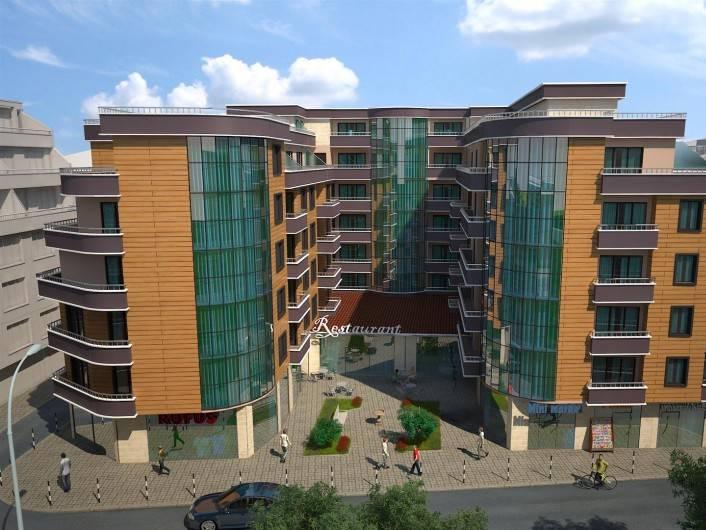 Dreizimmerwohnung in Pomorie 80 m2