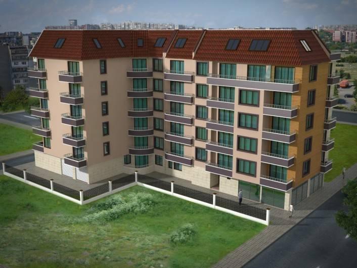 Zweizimmerwohnung in Pomorie 59 m2
