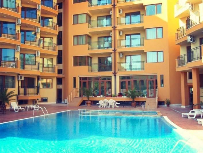 Einzimmerwohnung in Sonnenstrand 32 m2