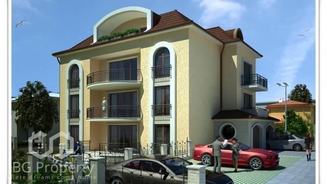 Zweizimmerwohnung in Galata, Varna 78 m2