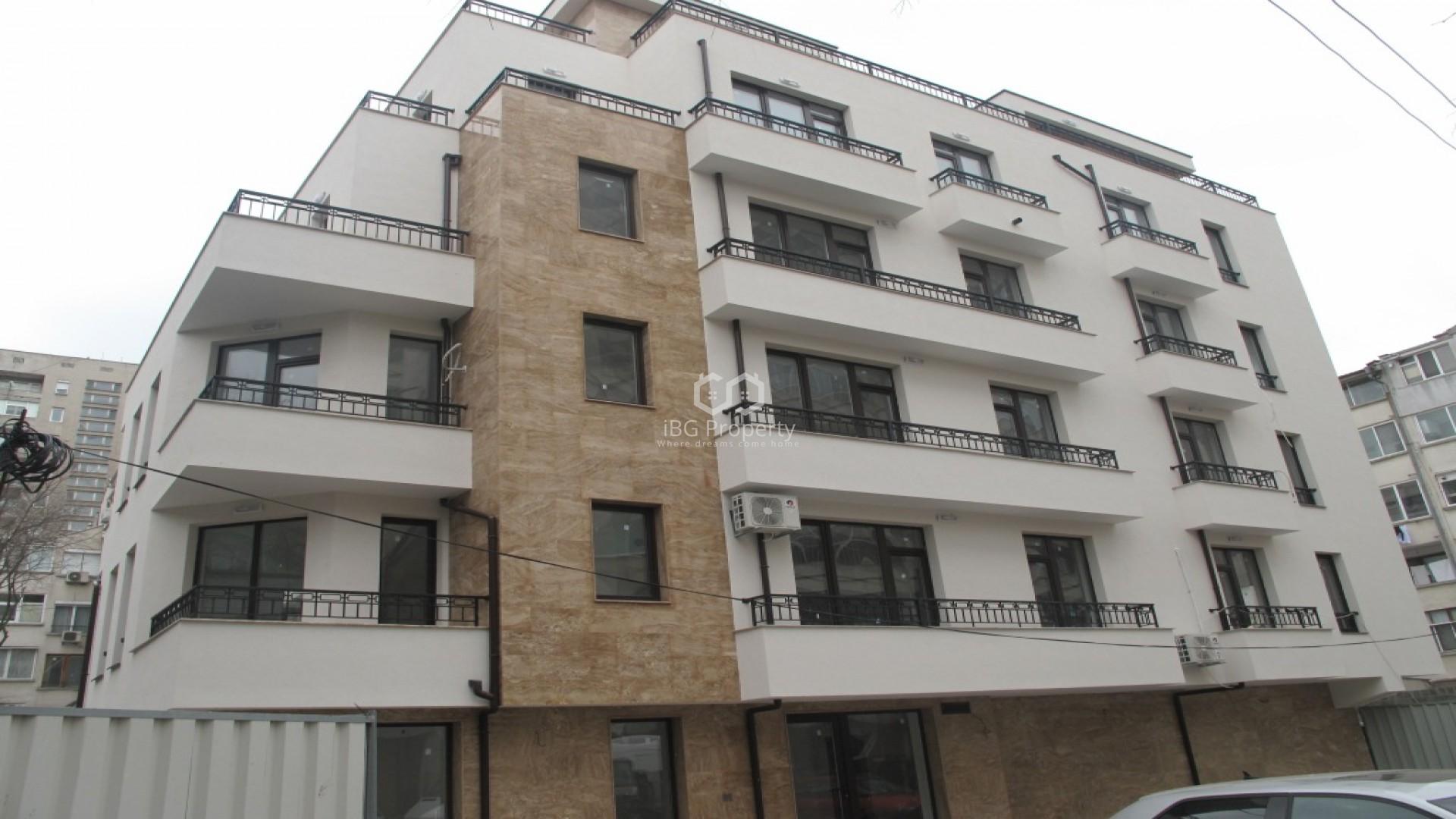 Dreizimmerwohnung im Zentrum von Burgas 107 m2