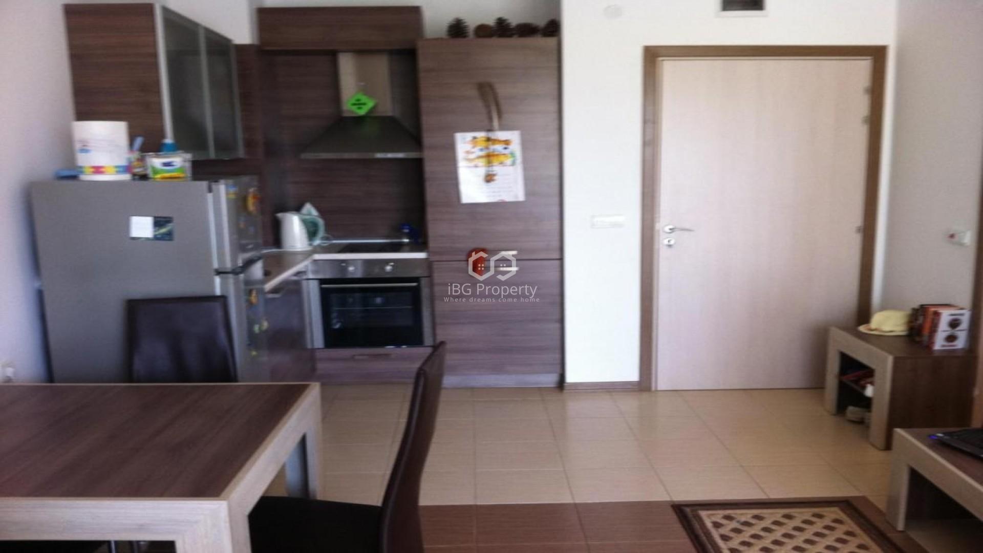 Einzimmerwohnung in Tschernomorets 47 m2