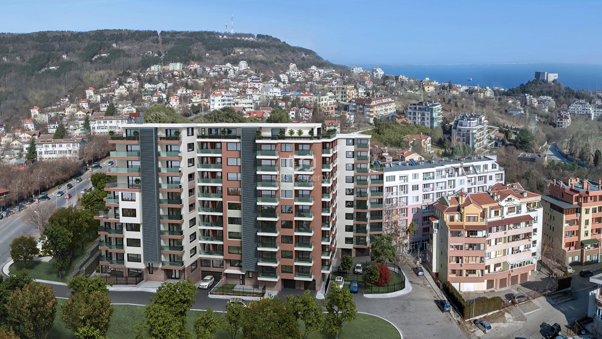Vierzimmerwohnung in Briz, Varna 133 m2