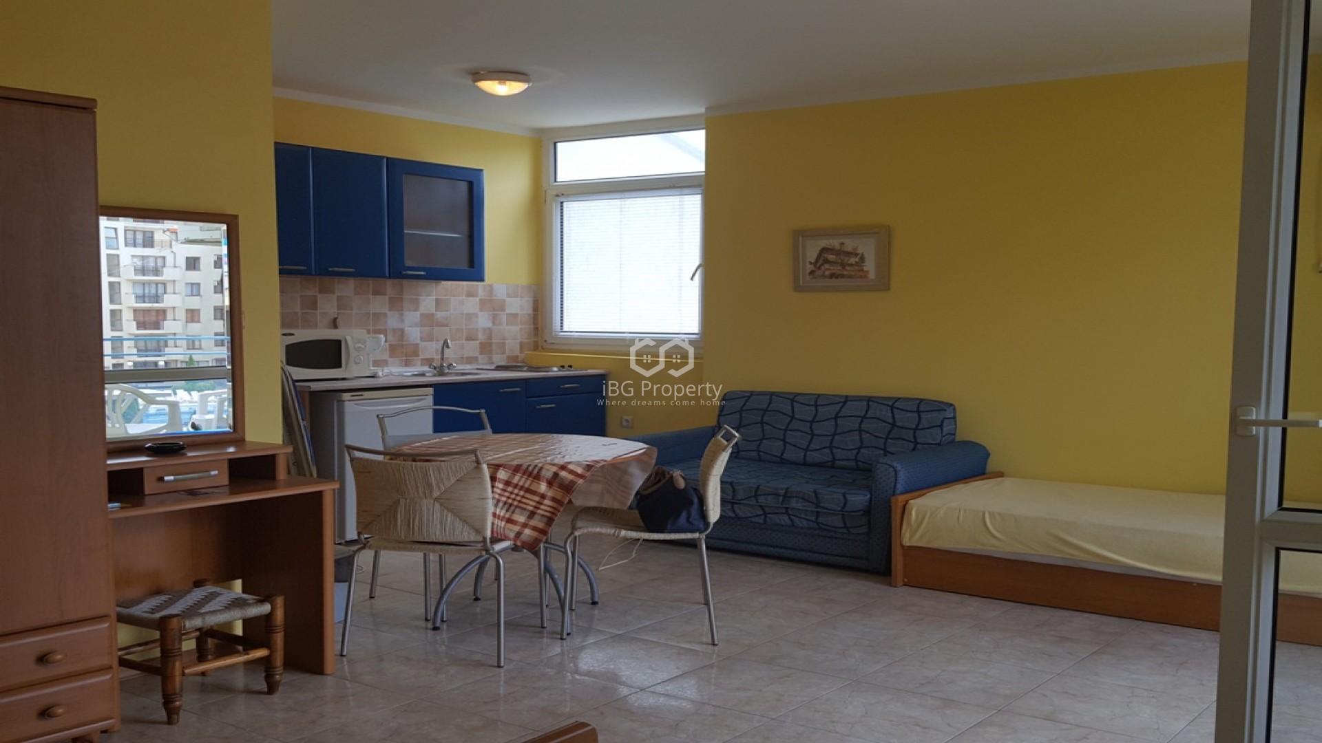 Einzimmerwohnung in Sonnenstrand 46 m2