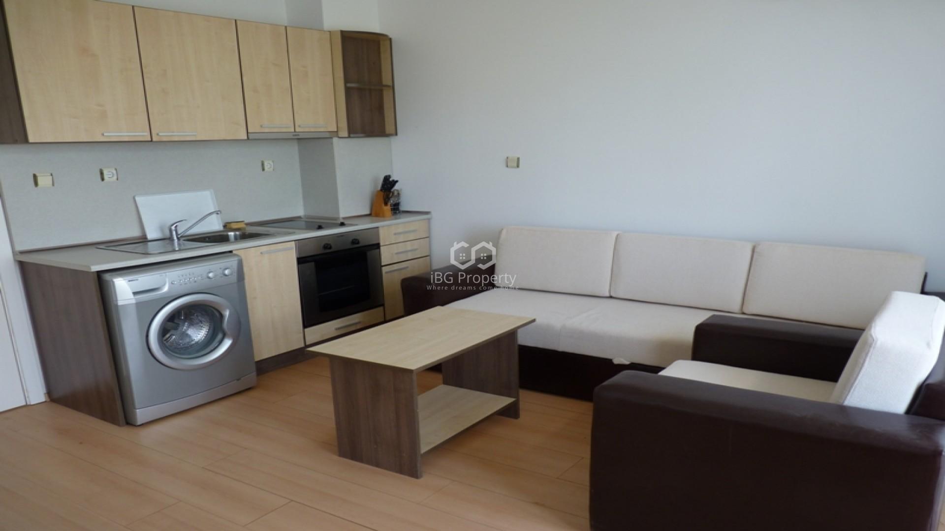 Einzimmerwohnung in Sonnenstrand 42 m2