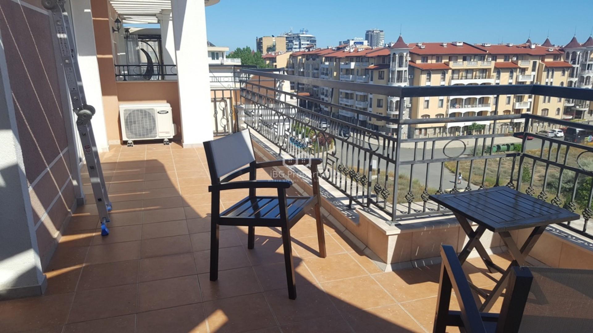 Dreizimmerwohnung in Sonnenstrand 127 m2