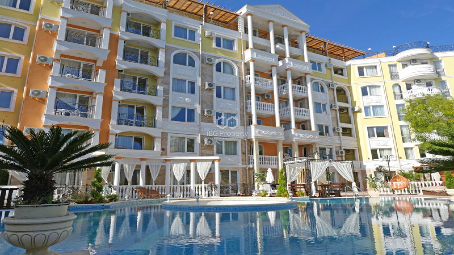 Einzimmerwohnung in Sonnenstrand 37 m2