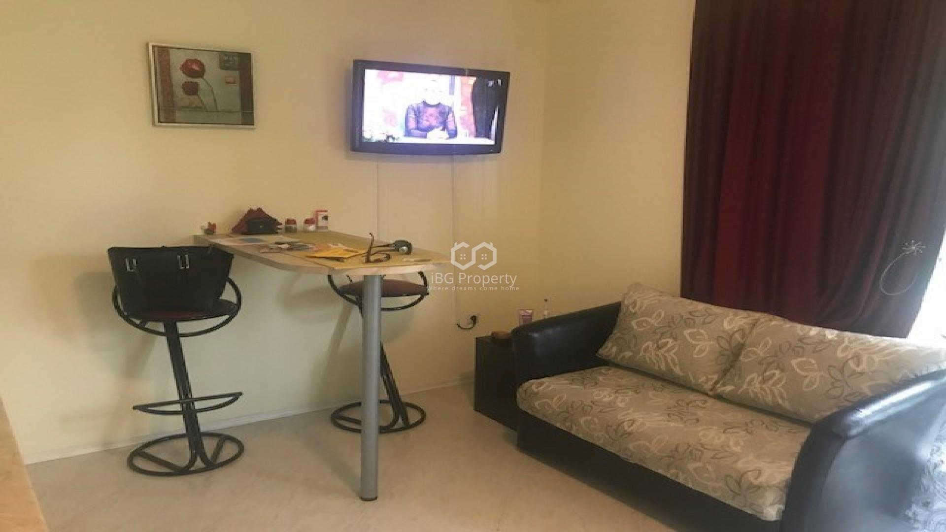 Einzimmerwohnung in Ravda 26 m2