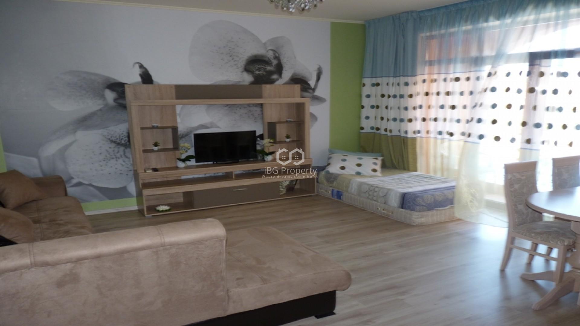 Einzimmerwohnung in Sonnenstrand 52 m2