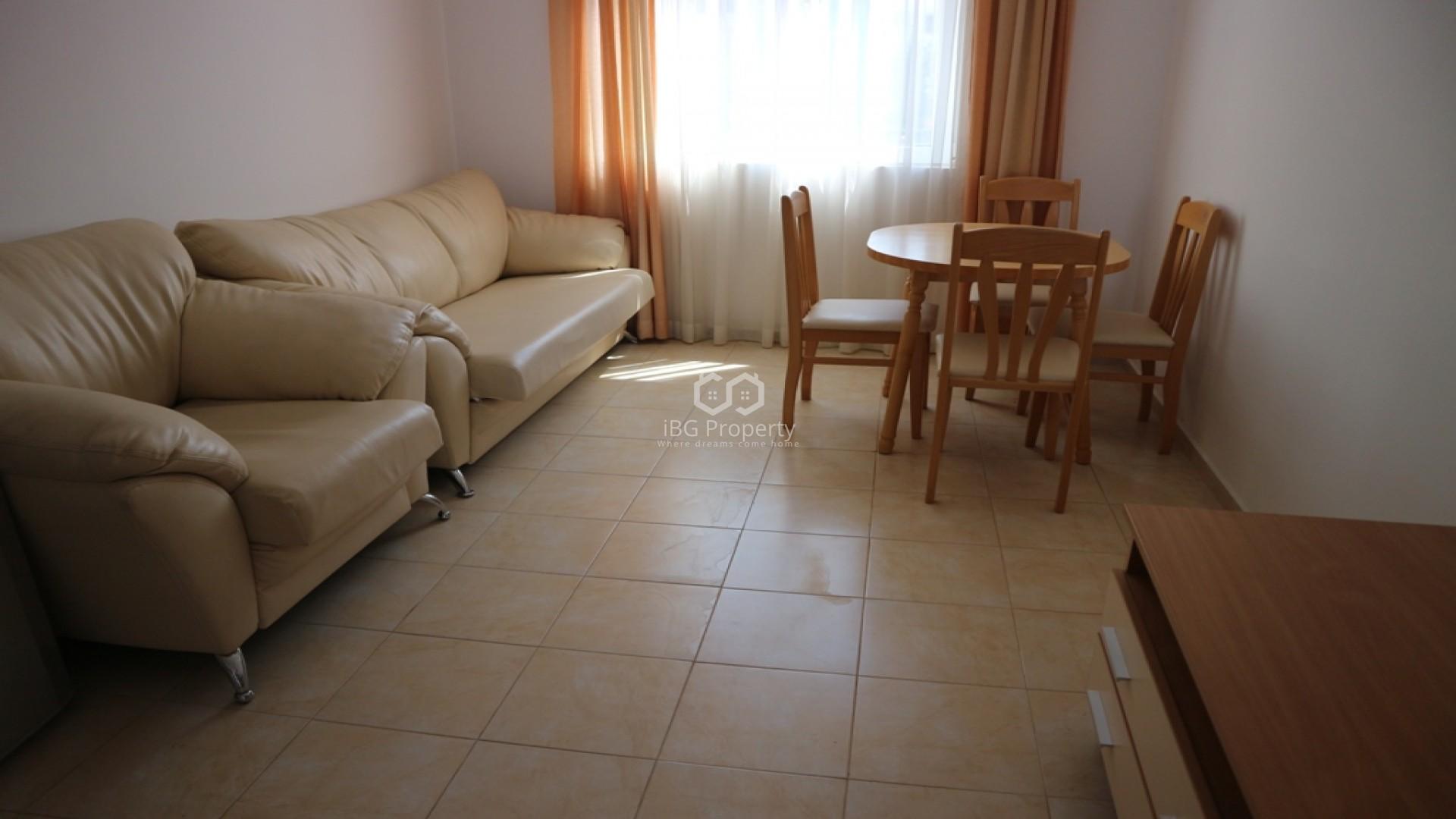 Dreizimmerwohnung in Sonnenstrand 64 m2