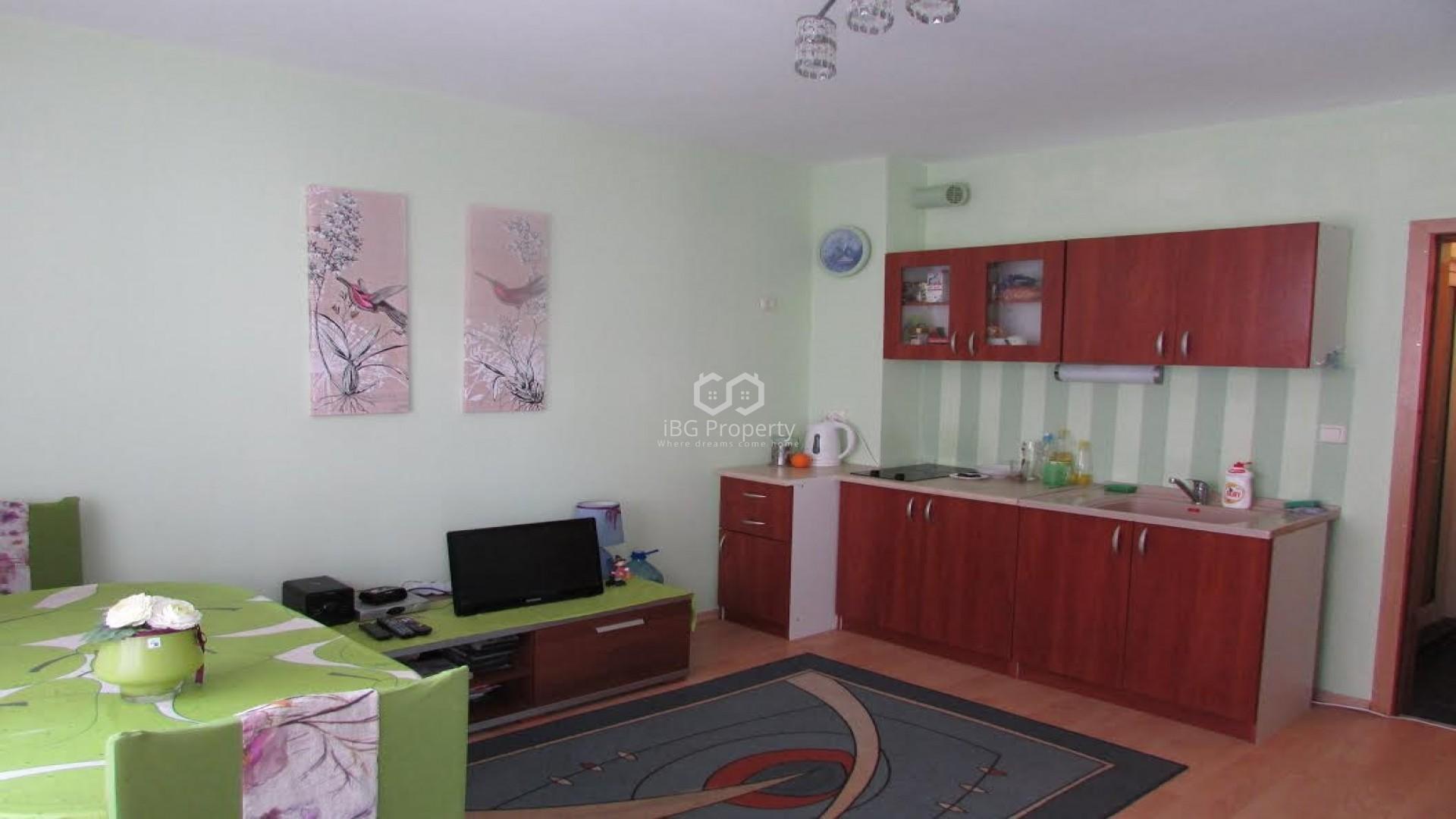 Zweizimmerwohnung in Ravda 46 m2
