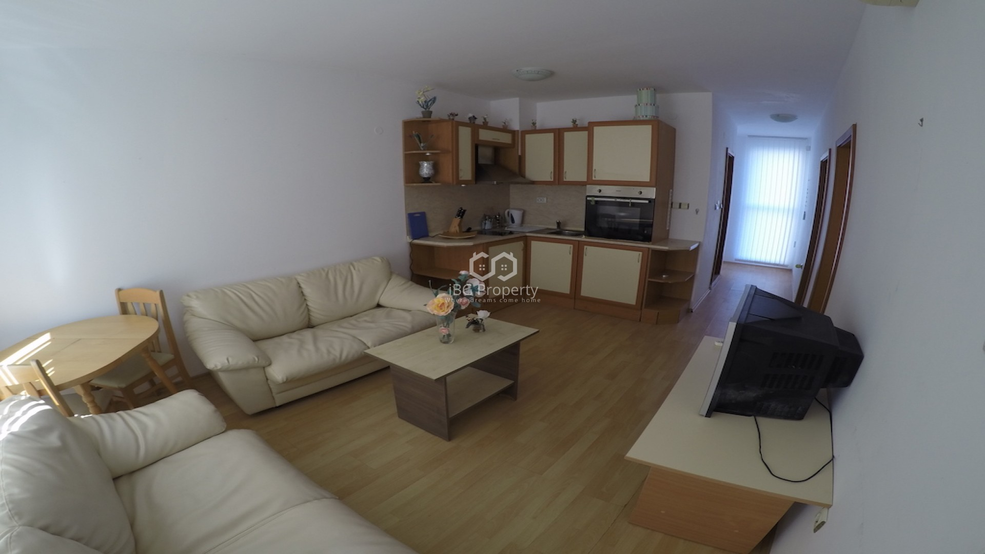 Dreizimmerwohnung in Sonnenstrand 69 m2