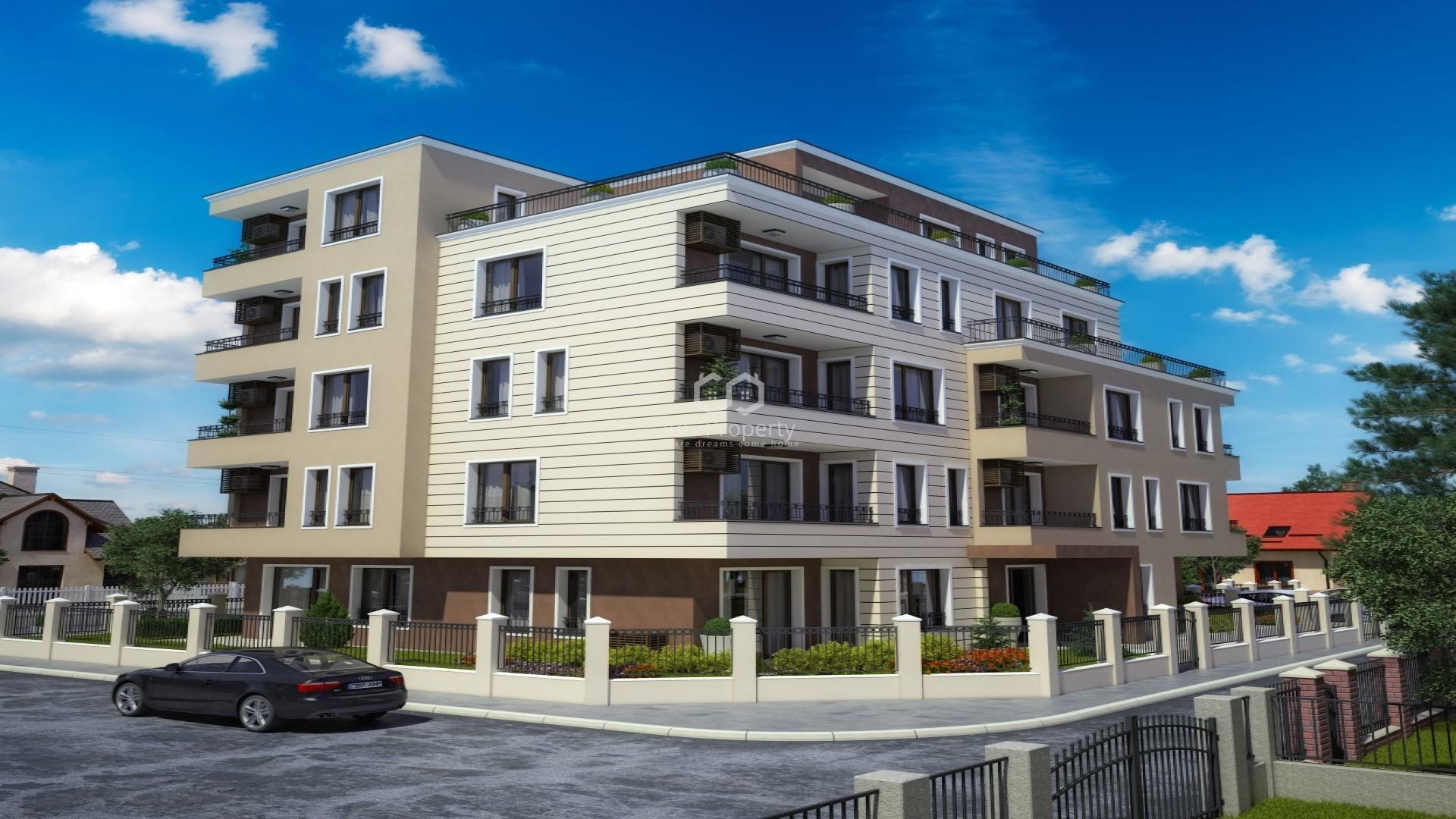 Zweizimmerwohnung in Ravda 48 m2