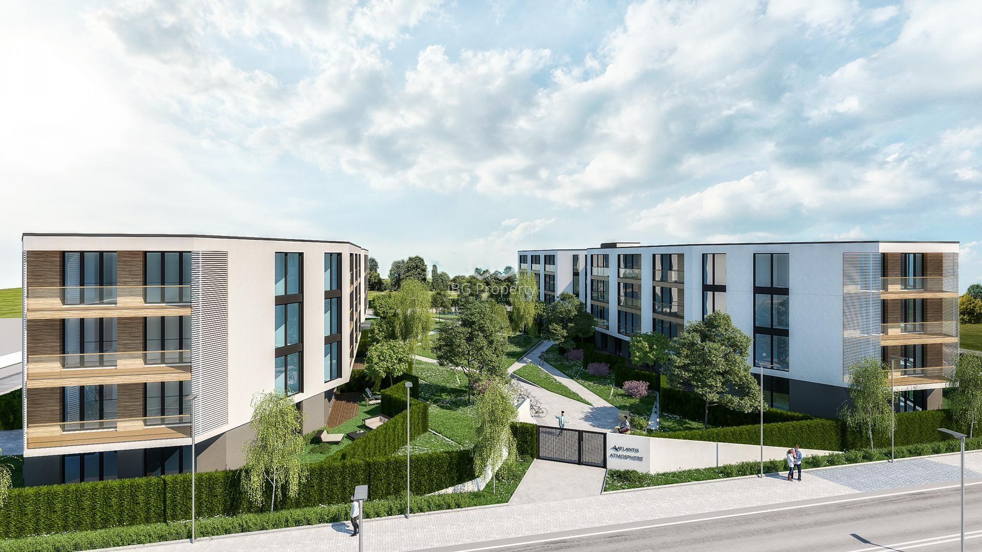Zweizimmerwohnung in Sarafovo, Burgas 70 m2