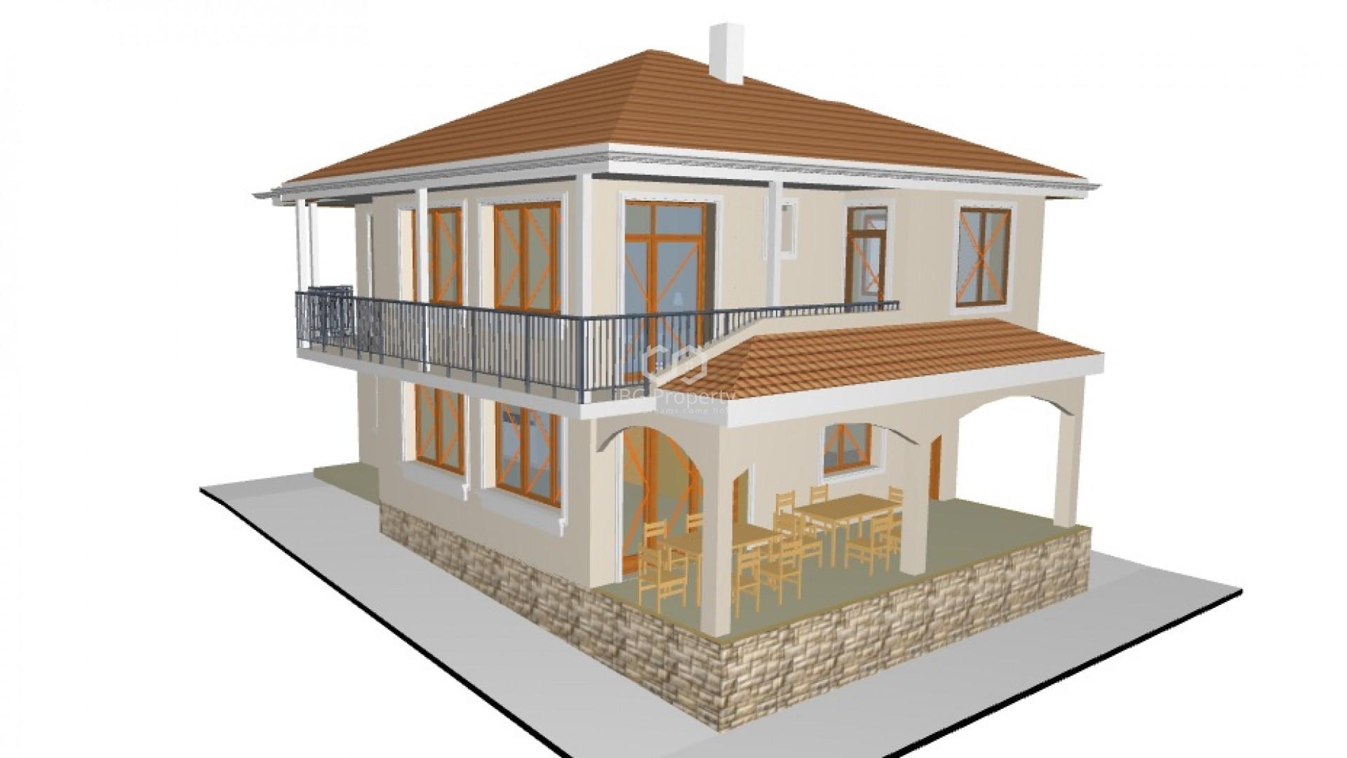 Haus in Banevo 186 m2