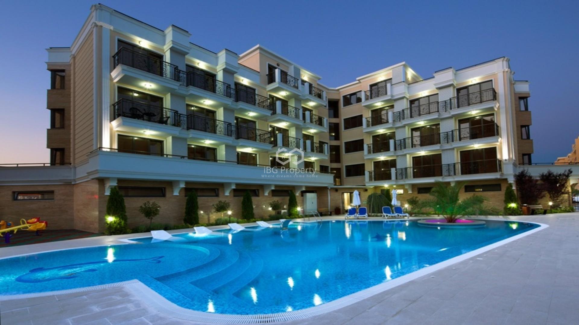 Dreizimmerwohnung in Sonnenstrand 71 m2