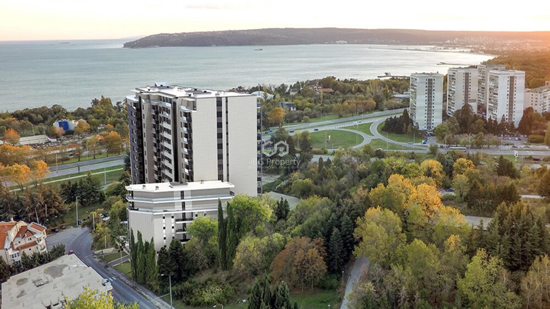 Einzimmerwohnung in Briz, Varna 47 m2