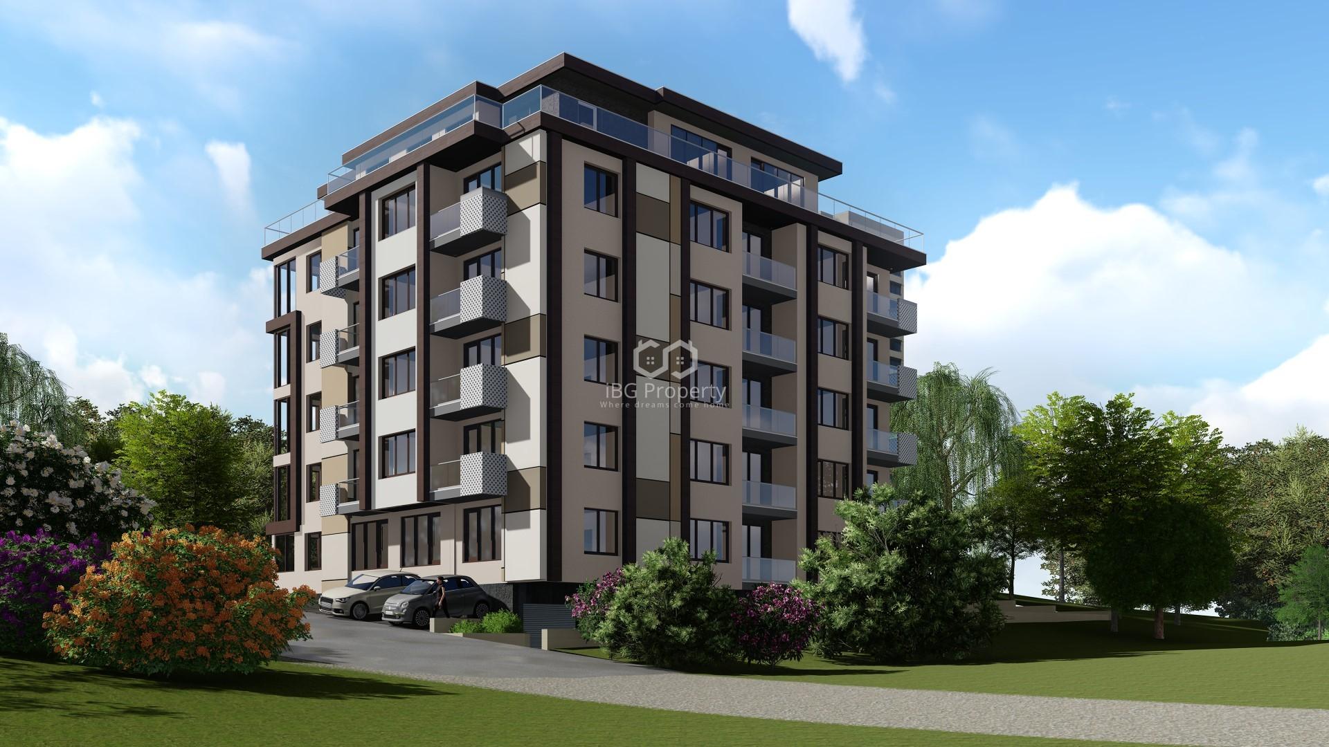 Dreizimmerwohnung in Mladost, Varna 85 m2