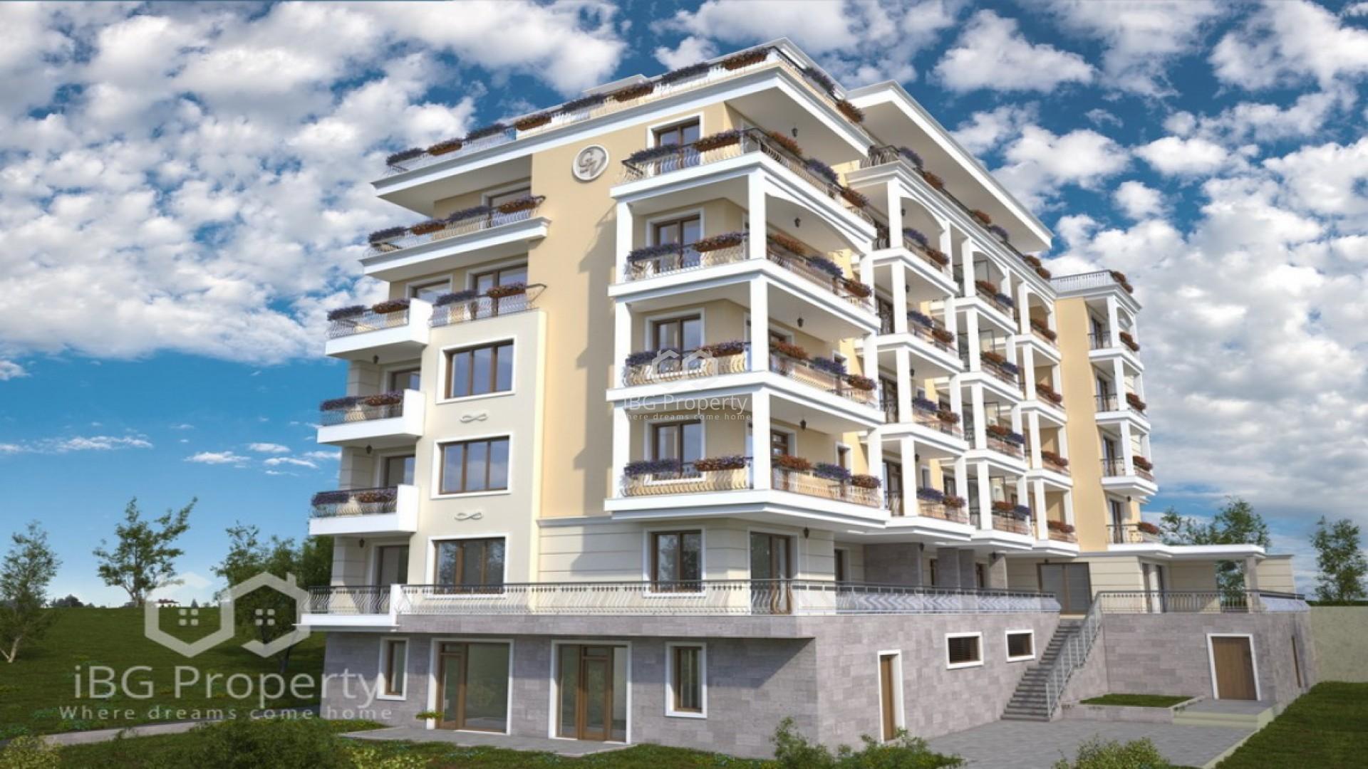 Einzimmerwohnung in Sveti Vlas 40 m2