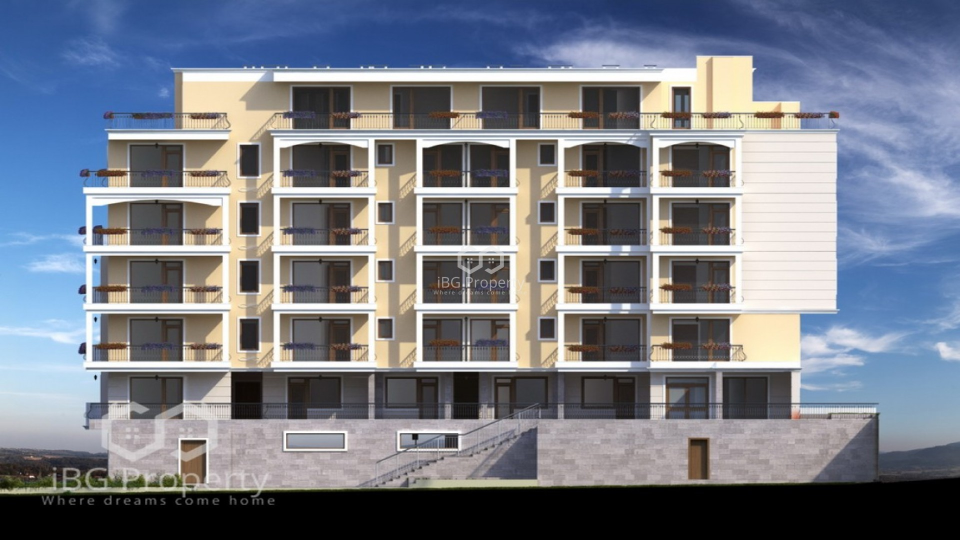 Einzimmerwohnung in Sveti Vlas 51 m2