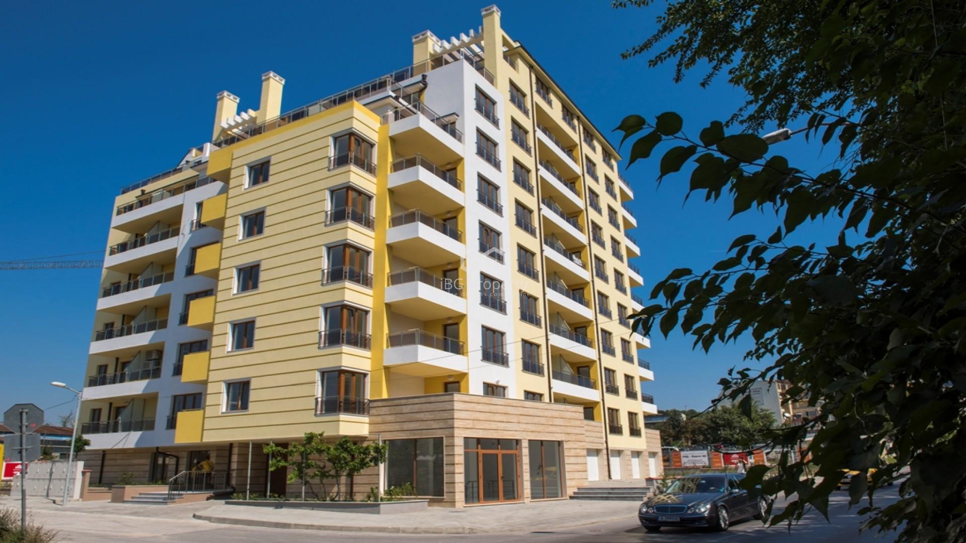Zweizimmerwohnung in Pobeda, Varna 72,26 m2