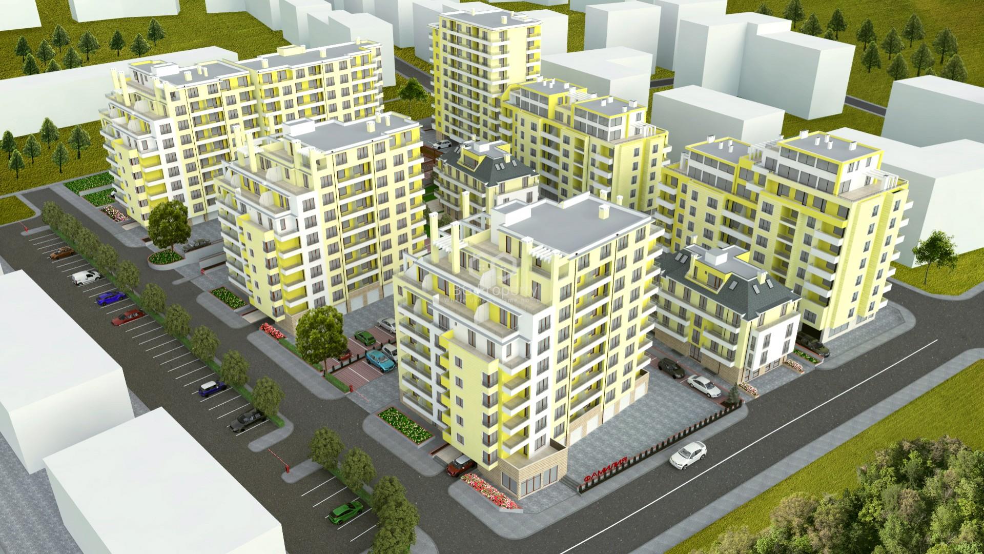 Zweizimmerwohnung in Pobeda, Varna 60,47 m2